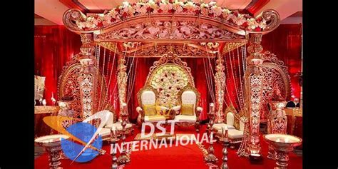 Traditional Indian Wedding Mandap   Wedding Stages