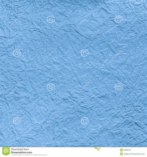 blue craft paper craft crumpled paper texture stock photo image 51880106