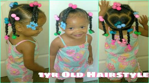 natural hair styles for 1 year olds cute hairstyle for little girls 1 year old toddler