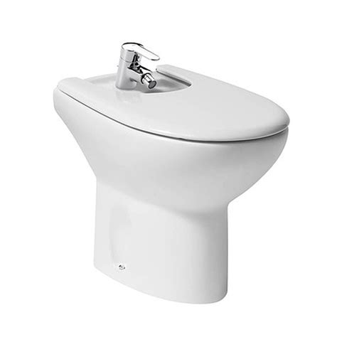 bidet sanitär roca floorstanding bidet with cover