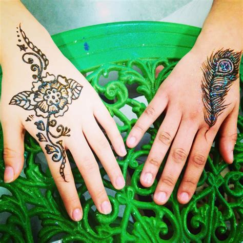 henna tattoo home henna leaf makedes