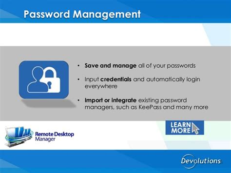 keepass template credit card remote desktop manager by devolutions