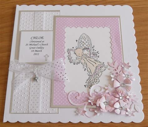 Handmade Christening Cards - 25 best ideas about christening card on
