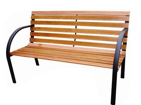 metal and wood bench new 3 seater bench outdoor garden metal wood slatted