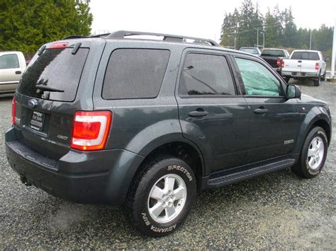 Ford Escape All Wheel Drive 2008 Ford Escape All Wheel Drive Fully Loaded Outside