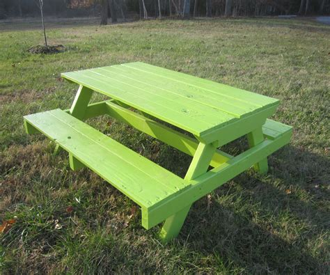 kids wooden picnic bench kid s pallet picnic table 7 steps with pictures