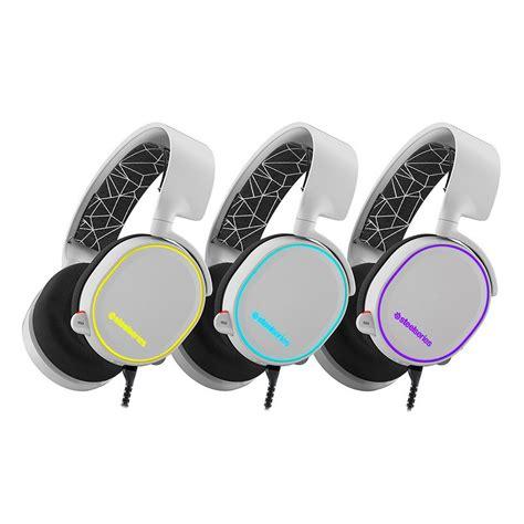 Headset Gaming Steel Series Arctis 5 Rgb steelseries arctis 5 auriculares gaming rgb 7 1 blanco