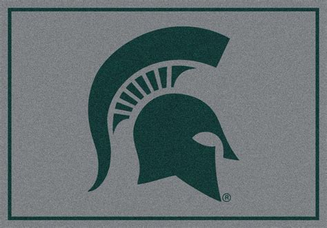 Area Rugs Michigan 8x11 Milliken Michigan State Spartans Ncaa Spirit Area Rug Approx 7 8 Quot X10 9 Quot Ebay