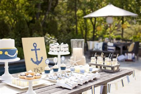 pottery barn baby shower nautical baby shower for pottery barn the tomkat