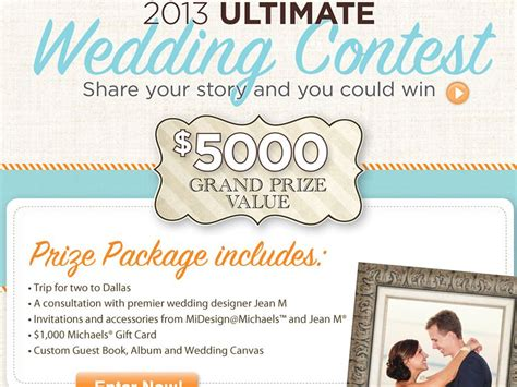 Wedding Contests by 2013 Ultimate Wedding Contest
