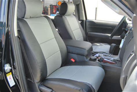 Toyota Tundra Leather Seats Toyota Tundra 2010 Leather Like Custom Seat Cover Ebay