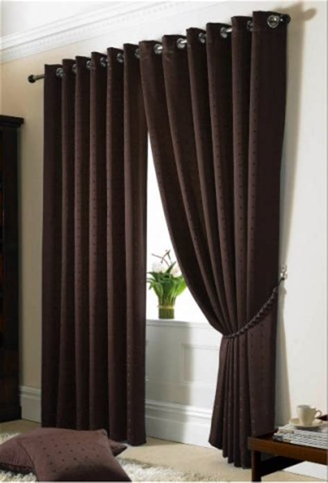 chocolate curtains eyelet boston chocolate eyelet lined curtains woodyatt curtains