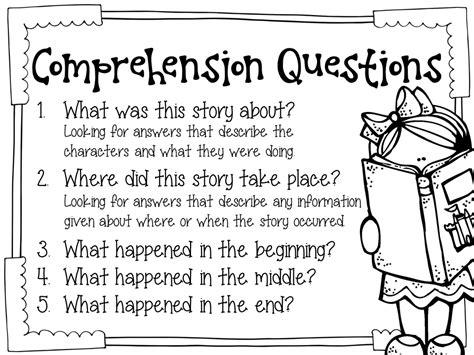 reading comprehension test basic fifth grade freebies monitoring basic reading