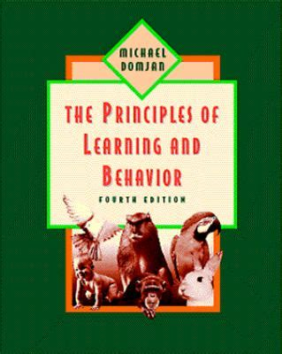 principles of learning and behavior 4th edition rent