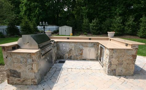 Outdoor Kitchen Kits by Custom Built Outdoor Kitchens 2008 U Shape