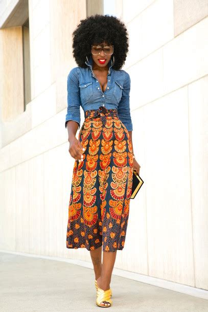 Le Viel Batik Mermaid Skirt Gold shirt skirt bag sunglasses shoes denim