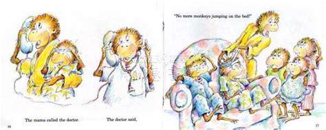 five little monkeys jumping on the bed book 有聲繪本 five little monkeys jumping on the bed w cd jy版 全新正版