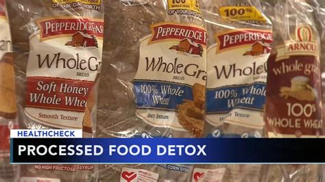 Processed Food Detox Symptoms tips to detox from unhealthy processed foods 6abc