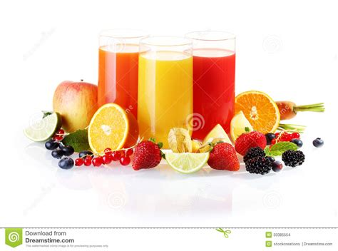 Fruit Juice Fresh Green Plum Juice the fresh juice or drink with cubes and a slice of