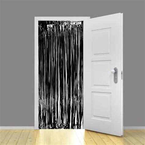 shimmer curtain black metallic shimmer curtain 3ft x 8ft partyrama co uk