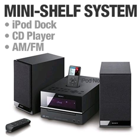 Micro Hi Fi Shelf System by Sony Cmt Bx20i Micro Hi Fi Shelf System Ipod Dock Cd
