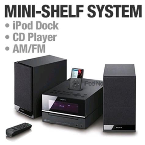 Hi Fi Shelf System by Sony Cmt Bx20i Micro Hi Fi Shelf System Ipod Dock Cd