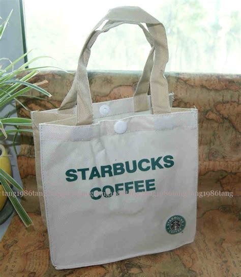 Tote Bag Kanvas Starbucks new starbucks coffee canvas mini shopping bag tote bag