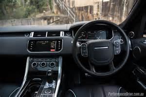 2016 range rover sport svr review performancedrive