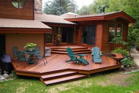 Patio Furniture Leveling by Ipe Multi Level Deck In Greenwich Ct