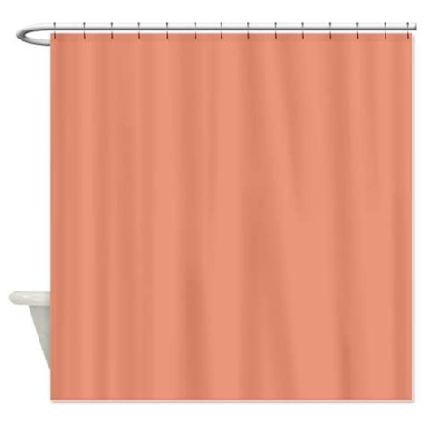 salmon curtains dark salmon shower curtain kawelamolokai com