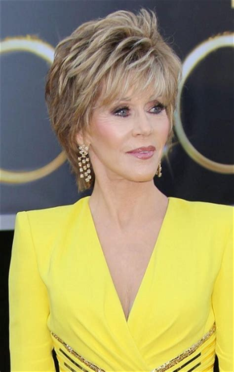 jane fonda hairstyles through the years sophisticated
