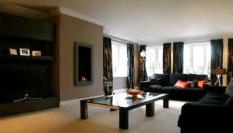 Living Rooms With Black Furniture | how to decorate a living room using black furniture