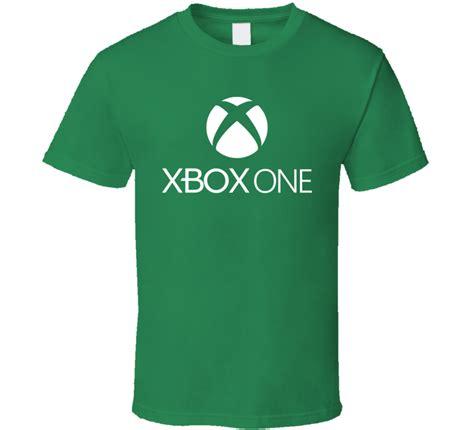 tshirt xbox one white xbox one logo t shirt