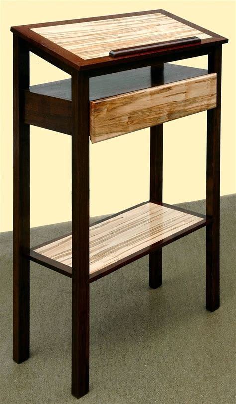Hand Made Podium Stand Up Desk Book Stand By Mountain Custom Stand Up Desk