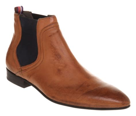 mens ted baker enapay chelsea boot leather boots ebay