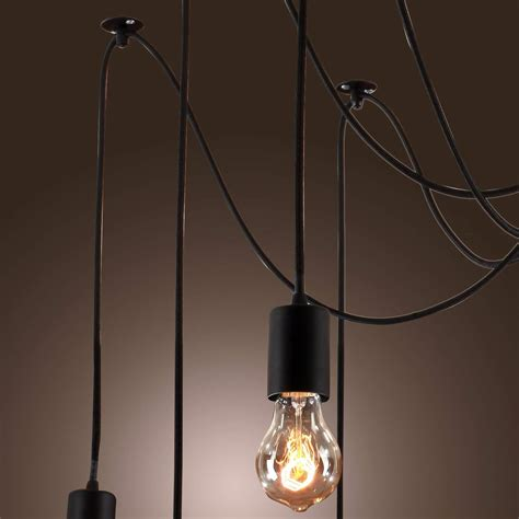 edison bulb ceiling light lightinthebox vintage edison ajustable diy