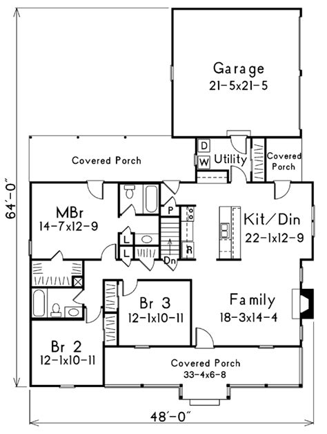 house plan 87330 at familyhomeplans