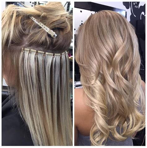are tape extensions good for updos beaded weft during gt after extensions by
