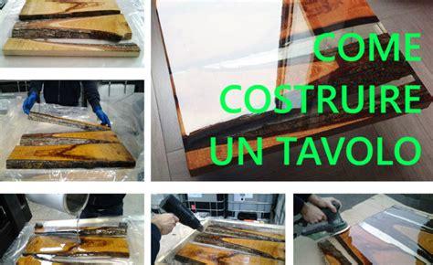 come costruire un tavolo di legno come costruire un tavolo di legno e resina resine