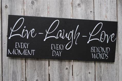 live laugh home decor live laugh 6x18 wood sign home decor sign family sign