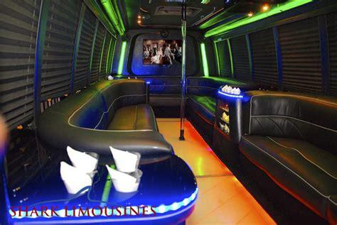 small limo rental small tiger shark i shark limousines san