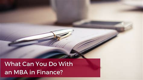 Benefits Of Mba In Finance by What Can You Do With An Mba In Finance