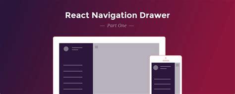 react native navigator tutorial react navigation drawer tutorial red shift