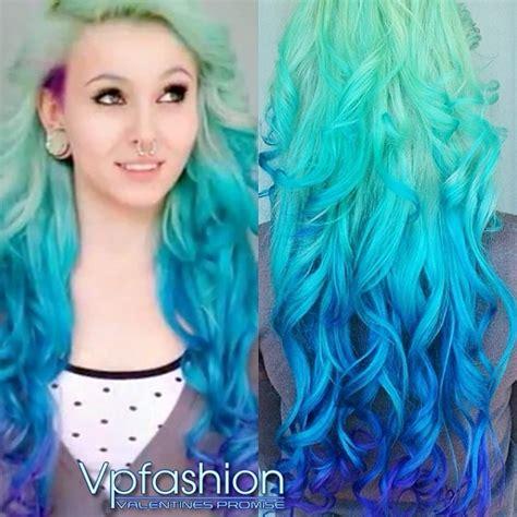 Blue Based Blonde Hair Color