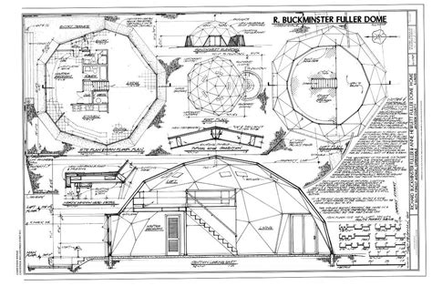 Draw Floor Plans Free Online architecture bubble dome geodesic inventor r buckminster
