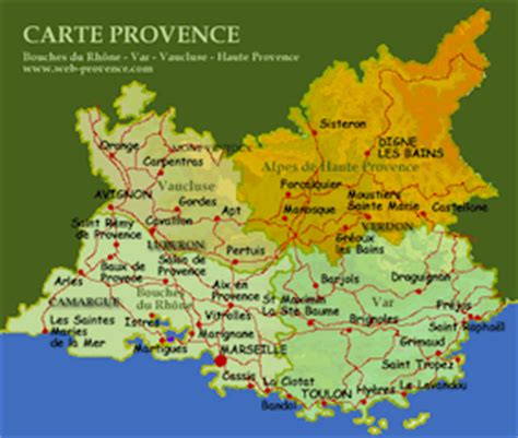 provence france map map of provence region pictures to pin on pinterest