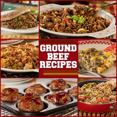 easy ground beef dinners holiday time savers recipe recipes with ground beef everydaydiabeticrecipes