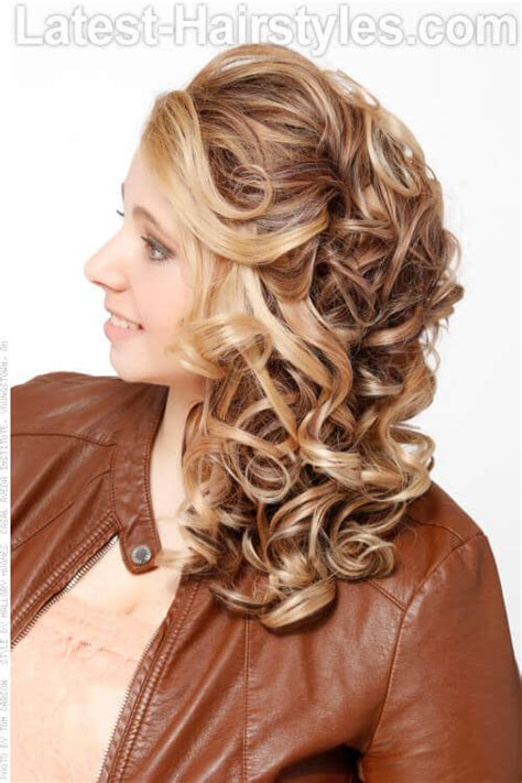 side curls hairstyles how to the sexiest messy updos you ll see all day