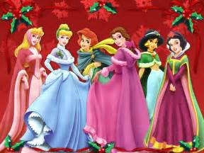 merry christmas from the disney princess disney princess