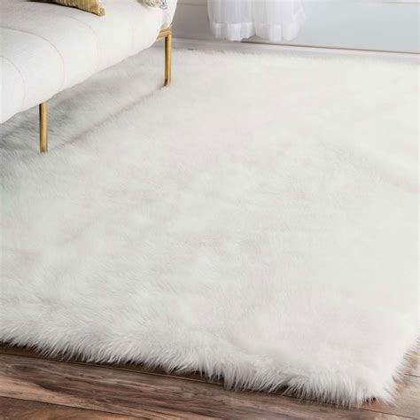 Sheepskin Area Rug White Faux Rug Rugs Ideas